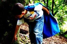 DIY super hero capes