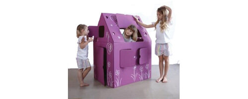 Lilly & Lolly Playhouse available from Out of the Egg