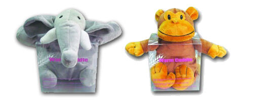 Star and Rose Heat Pack from Three Little Owls