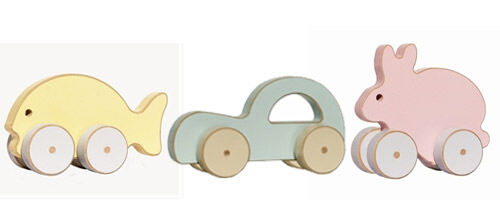 Pastel Toys available from The Tribe Store