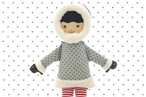 Snow themed fashion finds for kids