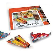 Fred Airplane Food placemates available at Mini Men