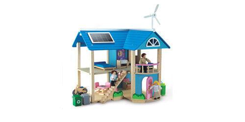 Wonderworld Eco Dollhouse from Quirky Kids