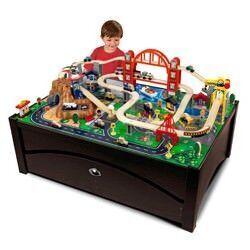 Kidcraft Metropolis train table set