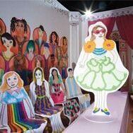 Rosie Flo's colouring fashion show