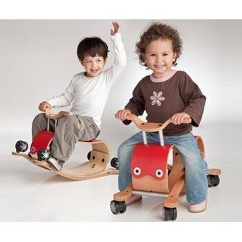 Wishbone 'Flip' rocker and ride-on