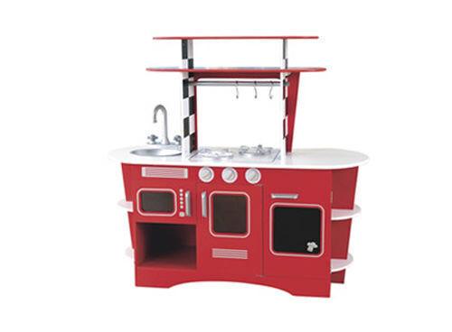 Retro wooden 'diner' kitchen