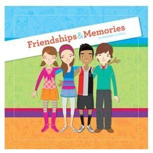 Friendships & Memories primary school memory book