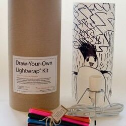 Draw your own lampshade kit