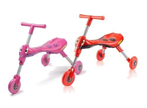 Quick Smart Scuttle Bug foldable ride-on