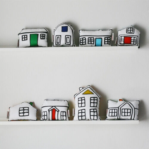 Ikea hack: soft toy town
