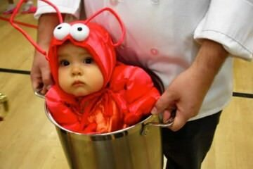 Cute baby costume for halloween