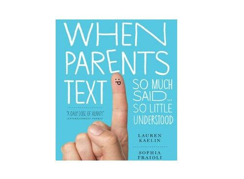"""Wwhen parents text"" book"