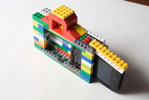 LEGO iPhone camera