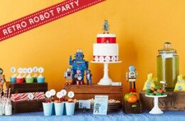 Robot Party Inspiration