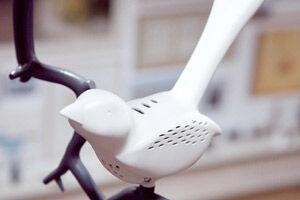 Chick-A-Dee bird shaped smoke alarm