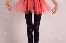 Kooky tights for funky little legs