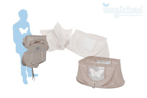 Magicbed travel cot