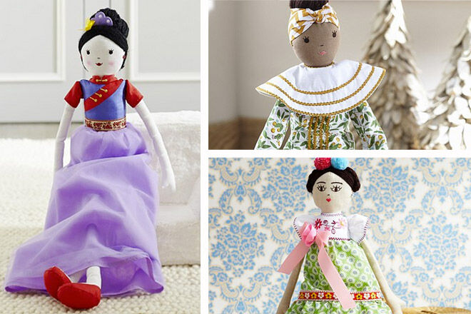 Pottery Barn International Designer Dolls