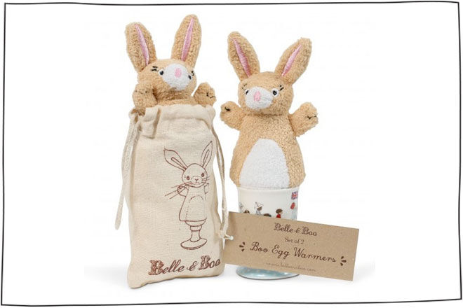 Belle and Boo Egg Warmers