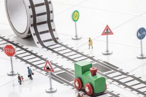 Train Track Tape