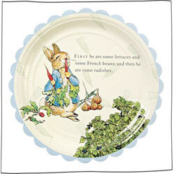 Peter Rabbit party plates