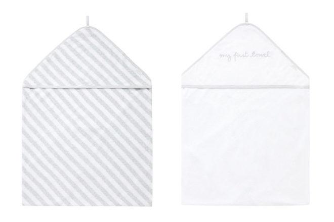 Purebaby hooded towel