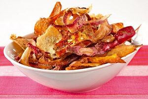 Vegetable chips recipe