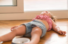 Tips to surviving a toddler tantrum