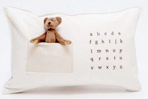 Cute Teddies in Pillow Pockets