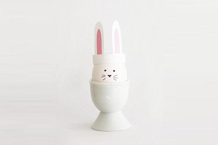 Easter bunny ears free printable