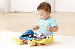 Cloth books for babies and toddlers