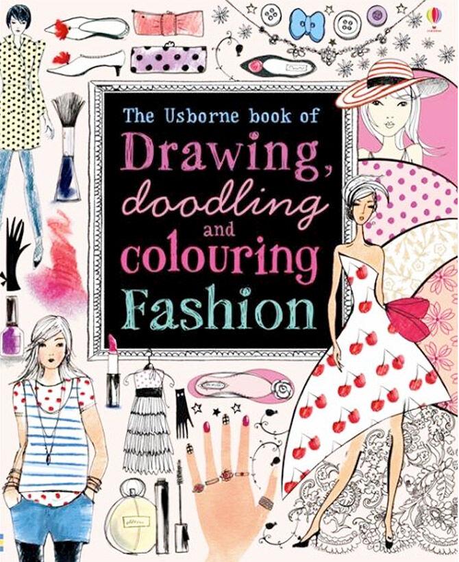 Fashion colouring books for kids