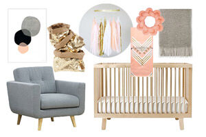 Dream Room: Perfectly peach nursery design and inspiration