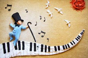 Creative Baby Photography - Wengenn In Wonderland.