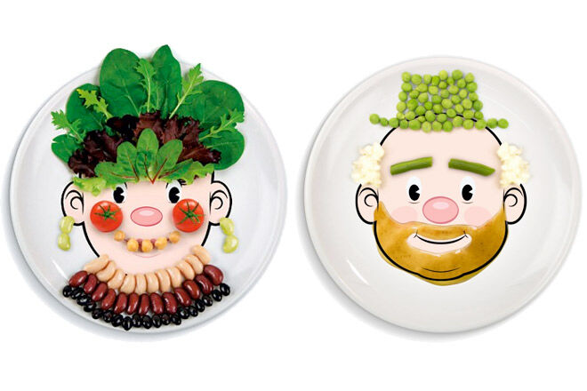 Fun dinnerware for kids from Fred & Friends
