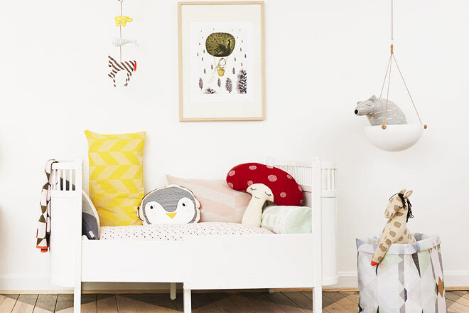 31 cool and quirky cushions for kids rooms