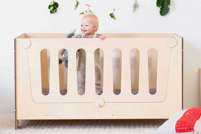 Best Convertible Cot: Plyroom Ava Lifestages Cot