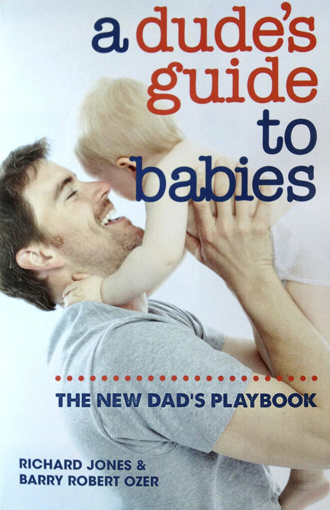 dadbook - dudes guide to babies