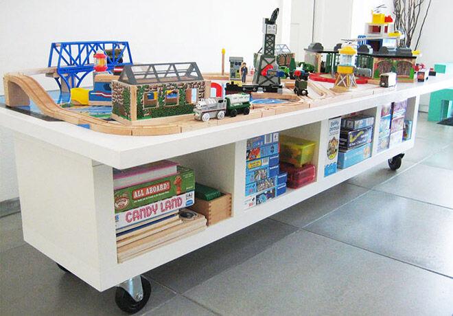 IKEA Hack - The KALLAX makes a great portable play area | Mum's Grapevine