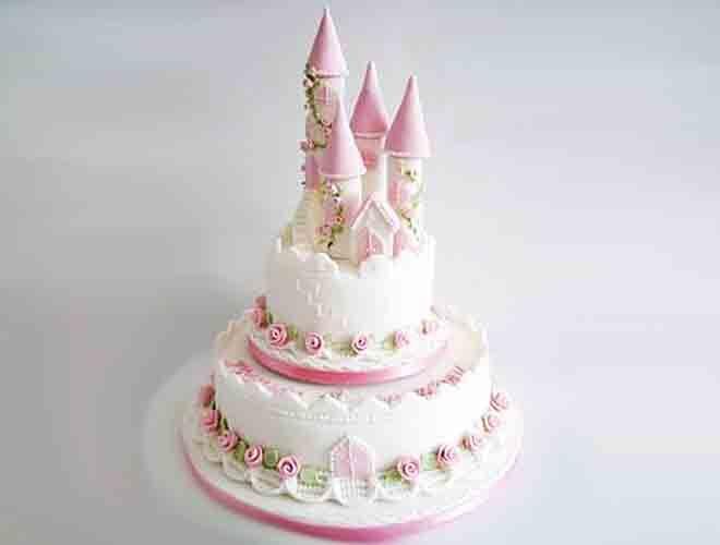 Cake-spiration princess castle.