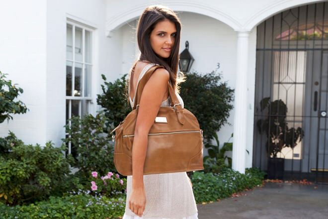 Budu have designed a beautiful baby bag that will have you racing out the door in style!