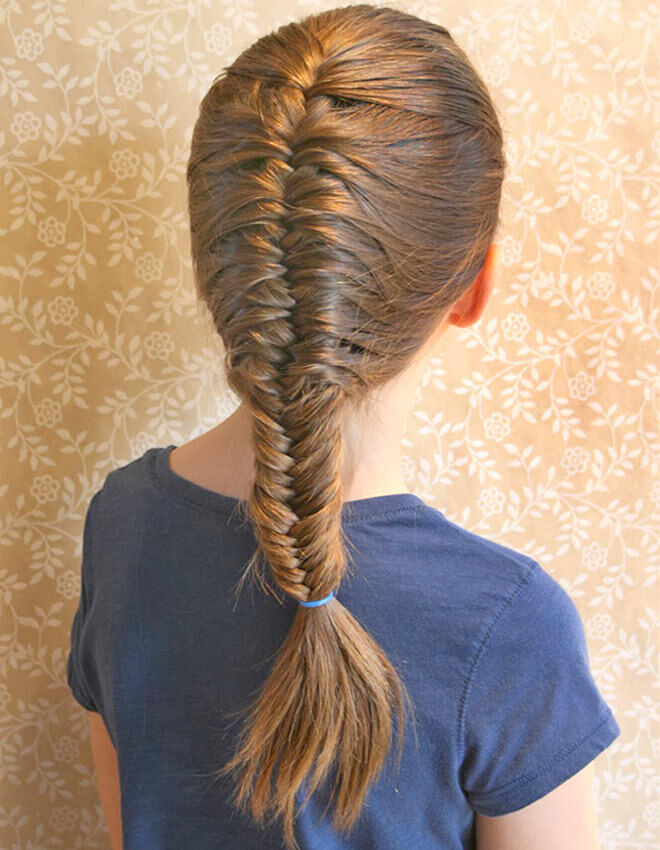 39 Easy School Hairstyles For Girls Mum S Grapevine