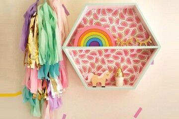 How to decorate a kids room with Kmart
