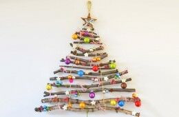 19 fun alternative Christmas trees | Mum's Grapevine