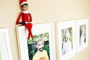 Funny places to put Elf on the Shelf