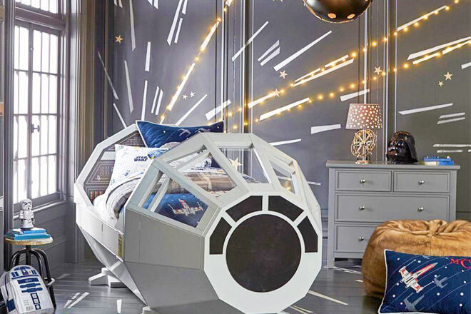 Pottery Barn Kids Star Wars Bed