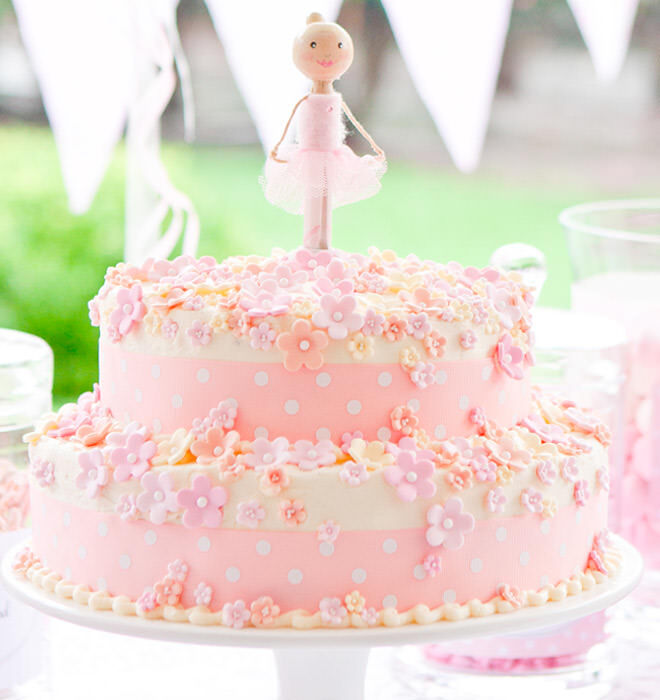 Swell 17 Ballerina Cakes For Your Tiny Dancer Mums Grapevine Personalised Birthday Cards Paralily Jamesorg