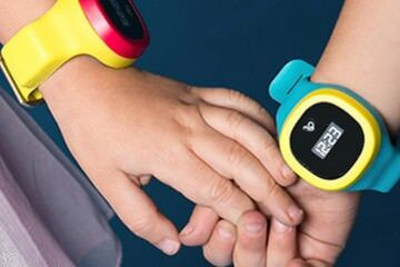 hereO GPS watch tracking kids