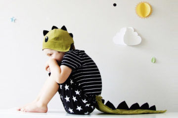 Sparrow and b dinosaur costume